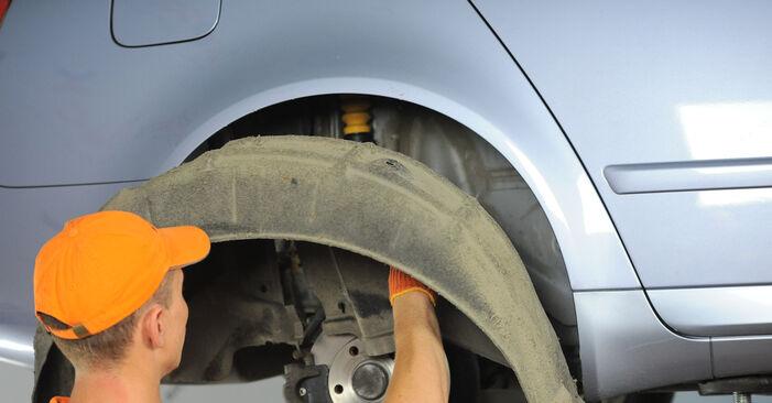 Wie man Stoßdämpfer am AUDI A4 Avant (8ED, B7) 2006 ersetzt - Hinweise und Ratschläge