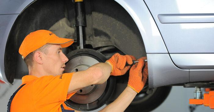 Stufenweiser Leitfaden zum Teilewechsel in Eigenregie von Audi A4 B7 Avant 2007 2.0 TFSI quattro Stoßdämpfer