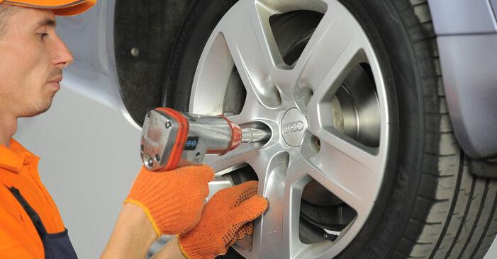 Audi A4 B7 Avant 2.0 TDI 16V 2006 Stoßdämpfer austauschen: Unentgeltliche Reparatur-Tutorials