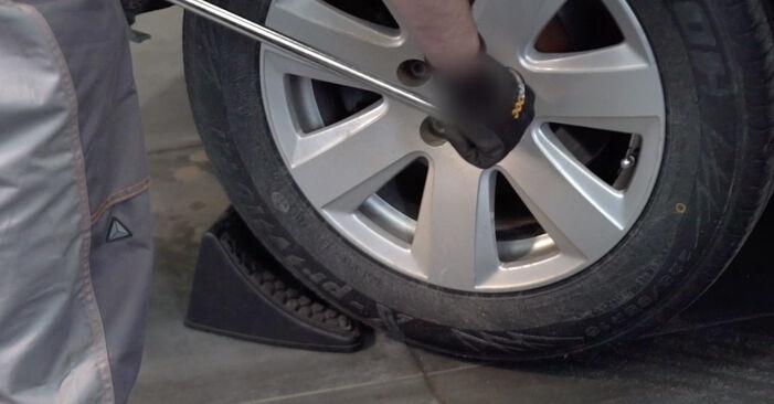 Bremsscheiben Audi A4 B7 Avant 1.9 TDI 2006 wechseln: Kostenlose Reparaturhandbücher