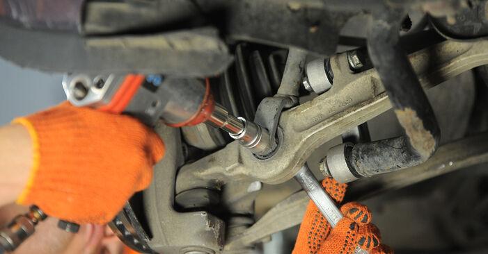 AUDI A4 2009 Носач На Кола стъпка по стъпка наръчник за смяна