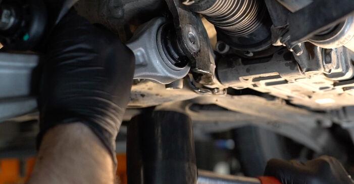 Как да сменим Носач На Кола на AUDI A4 Avant (8ED, B7) 2007: свалете PDF наръчници и видео инструкции