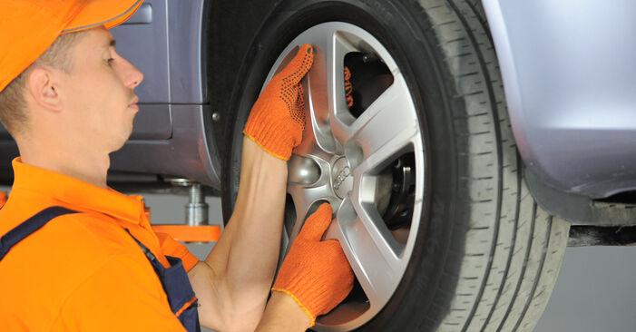 Как да демонтираме AUDI A4 2.0 TFSI quattro 2006 Носач На Кола - онлайн лесни за следване инструкции
