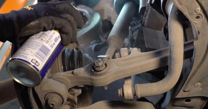Не е трудно да го направим сами: смяна на Носач На Кола на Audi A4 b7 1.8 T 2008 - свали илюстрирано ръководство