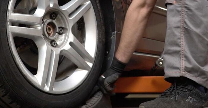 Wie Stoßdämpfer Audi A4 b7 2.0 TDI 2002 tauschen - Kostenlose PDF- und Videoanleitungen