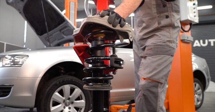 Stoßdämpfer Audi A4 b7 1.9 TDI 2004 wechseln: Kostenlose Reparaturhandbücher