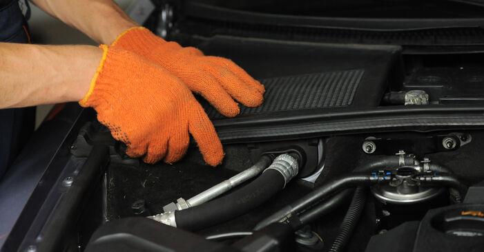Austauschen Anleitung Stoßdämpfer am Audi A4 b7 2004 2.0 TDI selbst