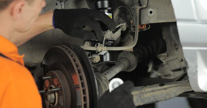 Austauschen Anleitung Spurstangenkopf am Ford Fiesta Mk5 2001 1.4 TDCi selbst
