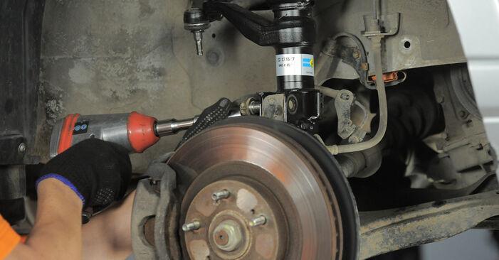 Wie Spurstangenkopf Ford Fiesta Mk5 1.4 TDCi 2001 tauschen - Kostenlose PDF- und Videoanleitungen