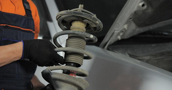 Spurstangenkopf beim FORD FIESTA 1.0 2008 selber erneuern - DIY-Manual