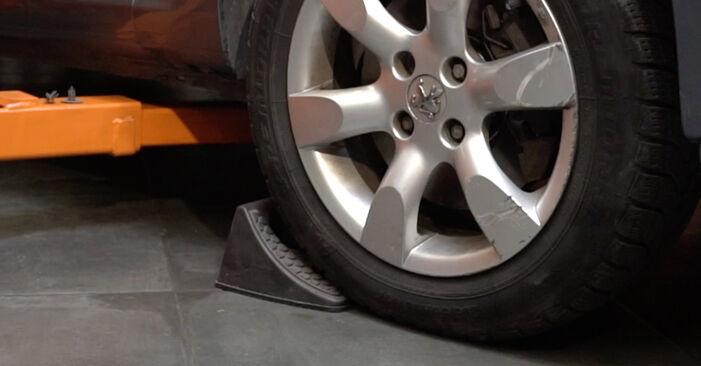 Wie Spurstangenkopf Peugeot 307 SW 1.6 HDI 110 2002 tauschen - Kostenlose PDF- und Videoanleitungen