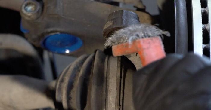 Ibiza III Hatchback (6L) 1.4 TDI 2005 Styrekugle gør-det-selv udskiftnings værksted manual
