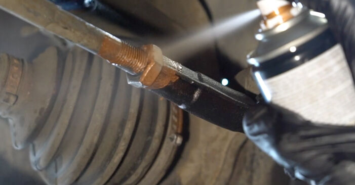 Seat Ibiza 6l1 1.4 16V 2004 skift af Styrekugle: gratis værksteds manualer