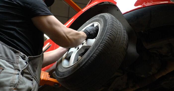 Hvordan man udskifter Styrekugle på SEAT Ibiza III Hatchback (6L) 2007: hent PDF manualer og video instruktioner