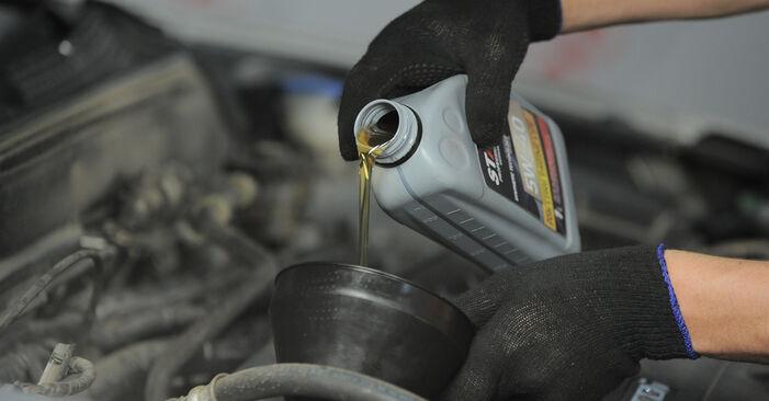 Ölfilter Ihres Honda CR-V II 2.0 (RD4) 2003 selbst Wechsel - Gratis Tutorial