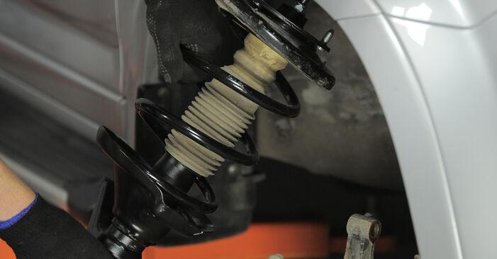 Wie Domlager beim Honda CR-V II 2001 gewechselt werden - Unentgeltliche PDF- und Videoanweisungen