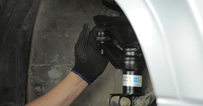Wie Federn Honda CR-V II 2.0 (RD4) 2001 tauschen - Kostenlose PDF- und Videoanleitungen