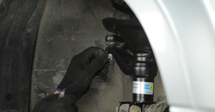 Federn Honda CR-V II 2.0 2003 wechseln: Kostenlose Reparaturhandbücher
