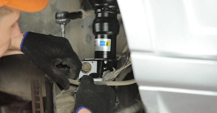 Stoßdämpfer Honda CR-V II 2.0 2003 wechseln: Kostenlose Reparaturhandbücher