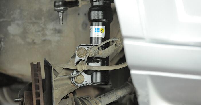 Wie HONDA CR-V 2.4 2005 Stoßdämpfer ausbauen - Einfach zu verstehende Anleitungen online