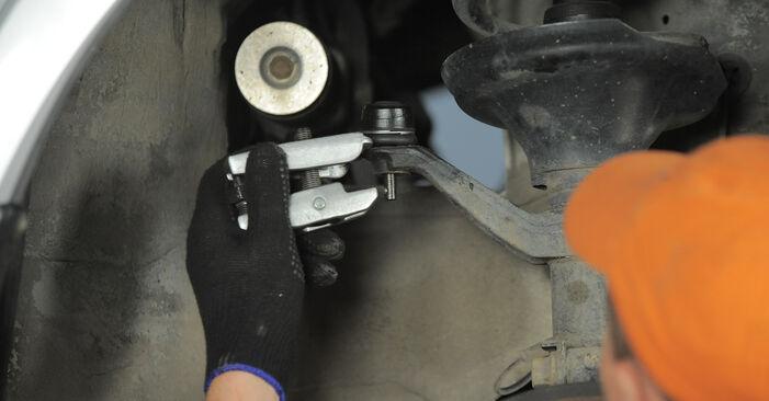 Stoßdämpfer Ihres Honda CR-V II 2.0 (RD4) 2003 selbst Wechsel - Gratis Tutorial
