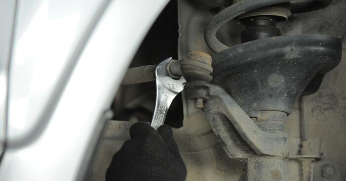Cambio Rótula de Dirección en Honda CR-V II 2003 no será un problema si sigue esta guía ilustrada paso a paso