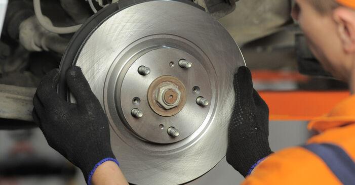 Wie HONDA CR-V 2.4 2005 Bremsscheiben ausbauen - Einfach zu verstehende Anleitungen online