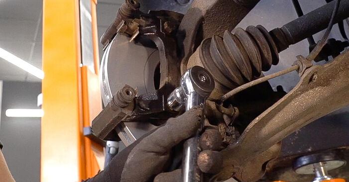 Bremsscheiben Ihres Honda CR-V II 2.0 (RD4) 2003 selbst Wechsel - Gratis Tutorial