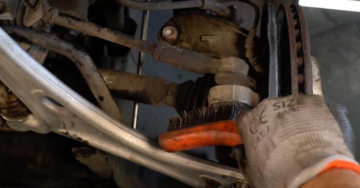 Wie schwer ist es, selbst zu reparieren: Spurstangenkopf Sharan 7M 2.8 V6 24V 2001 Tausch - Downloaden Sie sich illustrierte Anleitungen