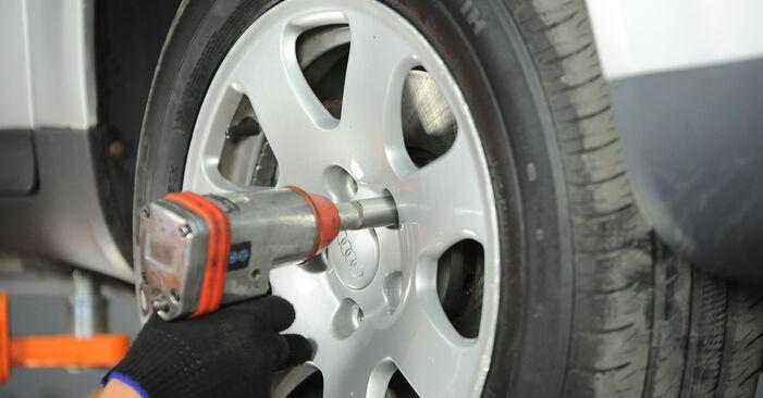 Spurstangenkopf Audi A4 B6 2.5 TDI quattro 2002 wechseln: Kostenlose Reparaturhandbücher