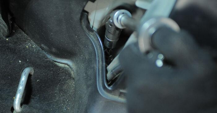 Schritt-für-Schritt-Anleitung zum selbstständigen Wechsel von Honda CR-V II 2002 2.4 Federn