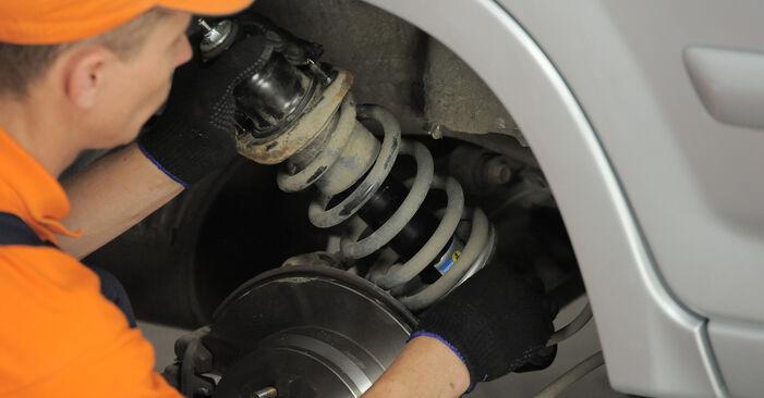 Schritt-für-Schritt-Anleitung zum selbstständigen Wechsel von Honda CR-V II 2002 2.4 Stoßdämpfer