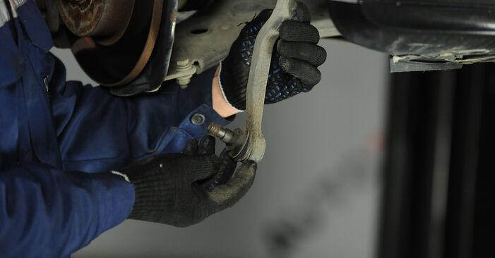 Spurstangenkopf Ihres Mercedes W169 A 200 2.0 Turbo (169.034, 169.334) 2012 selbst Wechsel - Gratis Tutorial