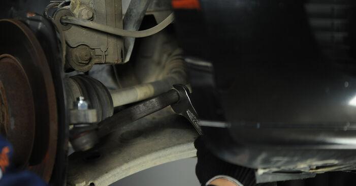 Schritt-für-Schritt-Anleitung zum selbstständigen Wechsel von Mercedes W169 2008 A 200 CDI 2.0 (169.008, 169.308) Spurstangenkopf