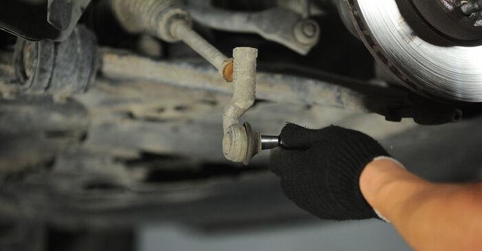Spurstangenkopf Ihres Ford Focus mk2 Limousine 1.6 TDCi 2012 selbst Wechsel - Gratis Tutorial