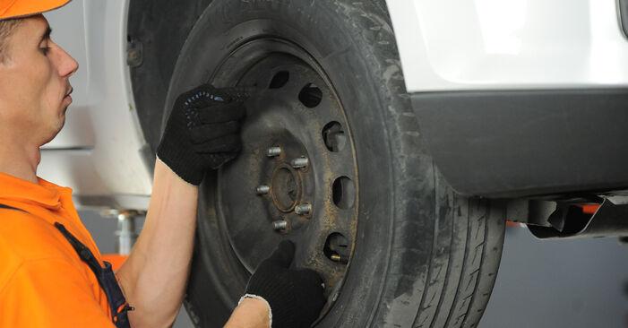 Wechseln Spurstangenkopf am FORD Focus II Limousine (DB_, FCH, DH) 2.0 TDCi 2007 selber