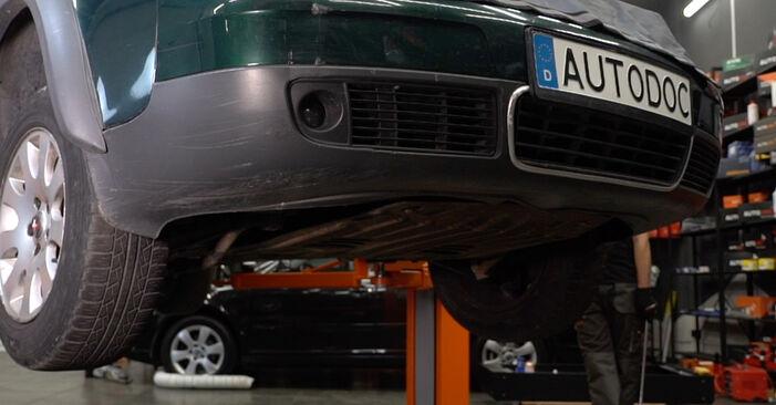Radlager Audi A6 C5 Avant 2.4 1999 wechseln: Kostenlose Reparaturhandbücher