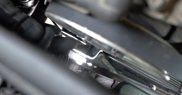 AUDI A6 1.9 TDI V formos rumbuotas diržas keitimas: internetiniai gidai ir vaizdo pamokos
