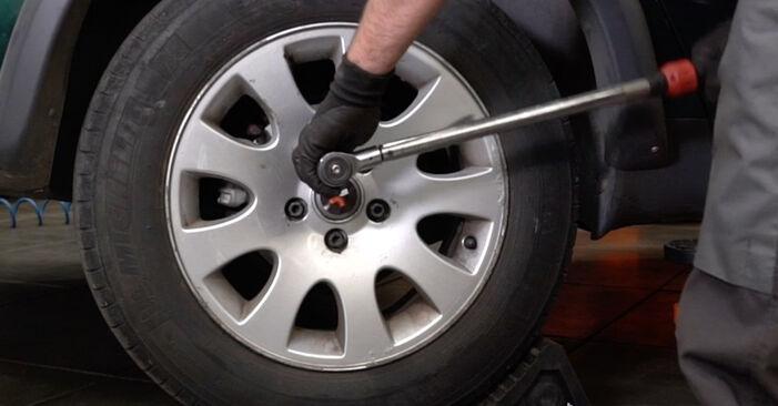 Radlager beim AUDI A6 2.5 TDI quattro 2004 selber erneuern - DIY-Manual