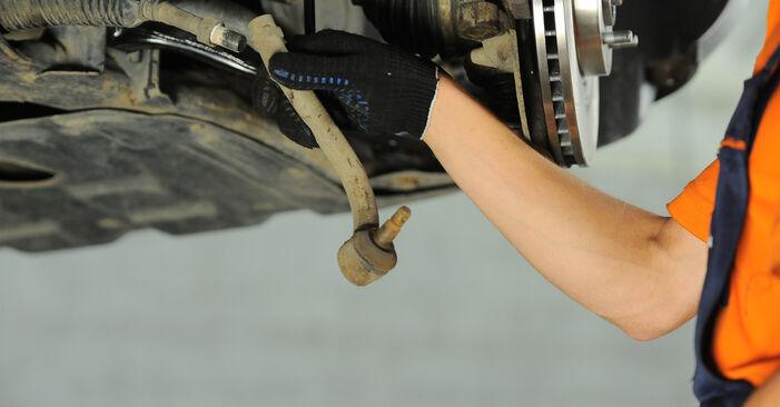 Spurstangenkopf Ihres Hyundai Santa Fe cm 2.2 CRDi GLS 4x4 2005 selbst Wechsel - Gratis Tutorial