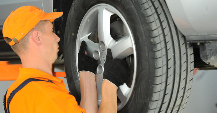 Spurstangenkopf Hyundai Santa Fe cm 2.2 CRDi 2007 wechseln: Kostenlose Reparaturhandbücher