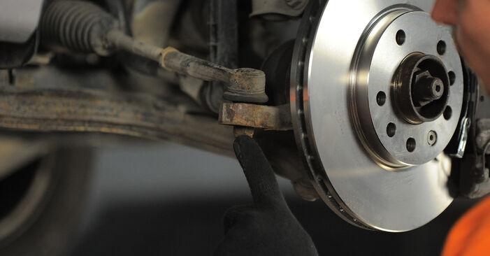 Wie schwer ist es, selbst zu reparieren: Spurstangenkopf Opel Astra H Caravan 1.6 (L35) 2010 Tausch - Downloaden Sie sich illustrierte Anleitungen