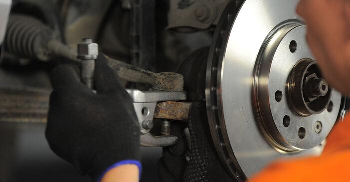 Spurstangenkopf Ihres Opel Astra H Caravan 1.9 CDTI (L35) 2012 selbst Wechsel - Gratis Tutorial
