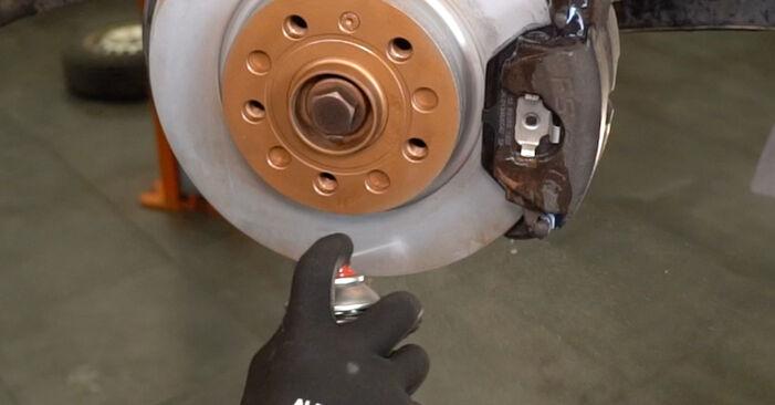 Trinn-for-trinn anbefalinger for hvordan du kan bytte VW Caddy 3 Van 2005 1.6 Drivknute selv