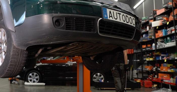 Slik bytter du AUDI A6 Avant (4B5, C5) 2.5 TDI quattro 1998 Bærebru selv – trinn-for-trinn veiledninger og videoer