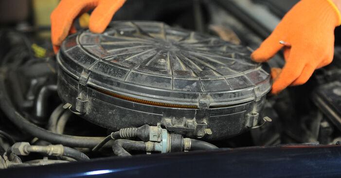 Så svårt är det att göra själv: Byt Luftfilter på Audi 80 b4 1.9 TD 1993 – ladda ned illustrerad guide