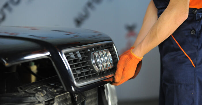 Ölfilter Ihres Audi 80 B4 2.0 E 16V quattro 1991 selbst Wechsel - Gratis Tutorial