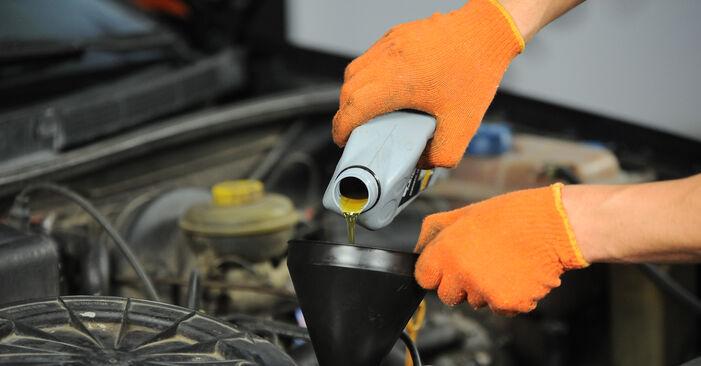 Zweckdienliche Tipps zum Austausch von Ölfilter beim AUDI 80 Limousine (8C2, B4) 1.9 TDI 1993