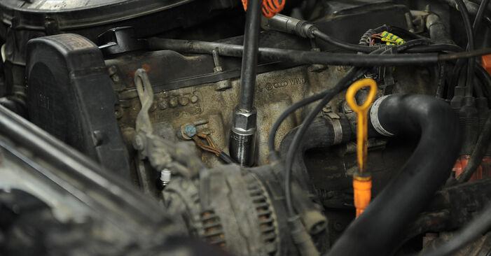Не е трудно да го направим сами: смяна на Запалителна свещ на Audi 80 b4 1.9 TD 1993 - свали илюстрирано ръководство