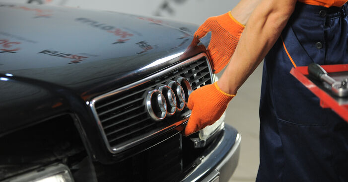 Wie Bremsscheiben Audi 80 B4 2.0 1991 tauschen - Kostenlose PDF- und Videoanleitungen